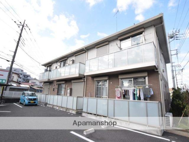 神奈川県相模原市緑区、橋本駅徒歩18分の築4年 2階建の賃貸アパート