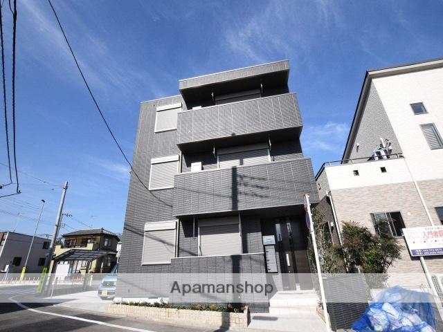 神奈川県相模原市緑区、橋本駅徒歩20分の新築 3階建の賃貸マンション