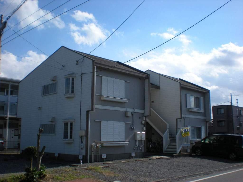 神奈川県相模原市中央区、相模原駅バス6分高校入口下車後徒歩3分の築30年 2階建の賃貸アパート
