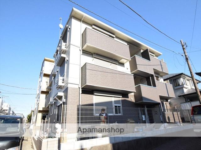 神奈川県相模原市中央区、相模原駅徒歩28分の新築 3階建の賃貸アパート