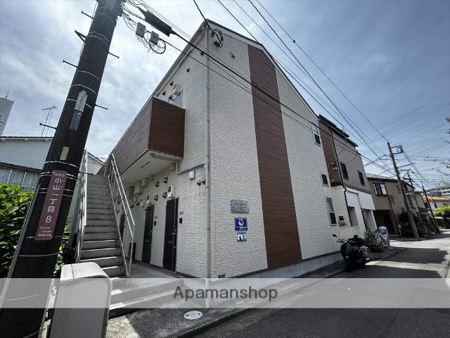 神奈川県相模原市中央区、相模原駅徒歩14分の新築 2階建の賃貸アパート