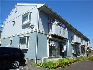 神奈川県相模原市緑区、橋本駅バス11分原宿下車後徒歩5分の築23年 2階建の賃貸アパート