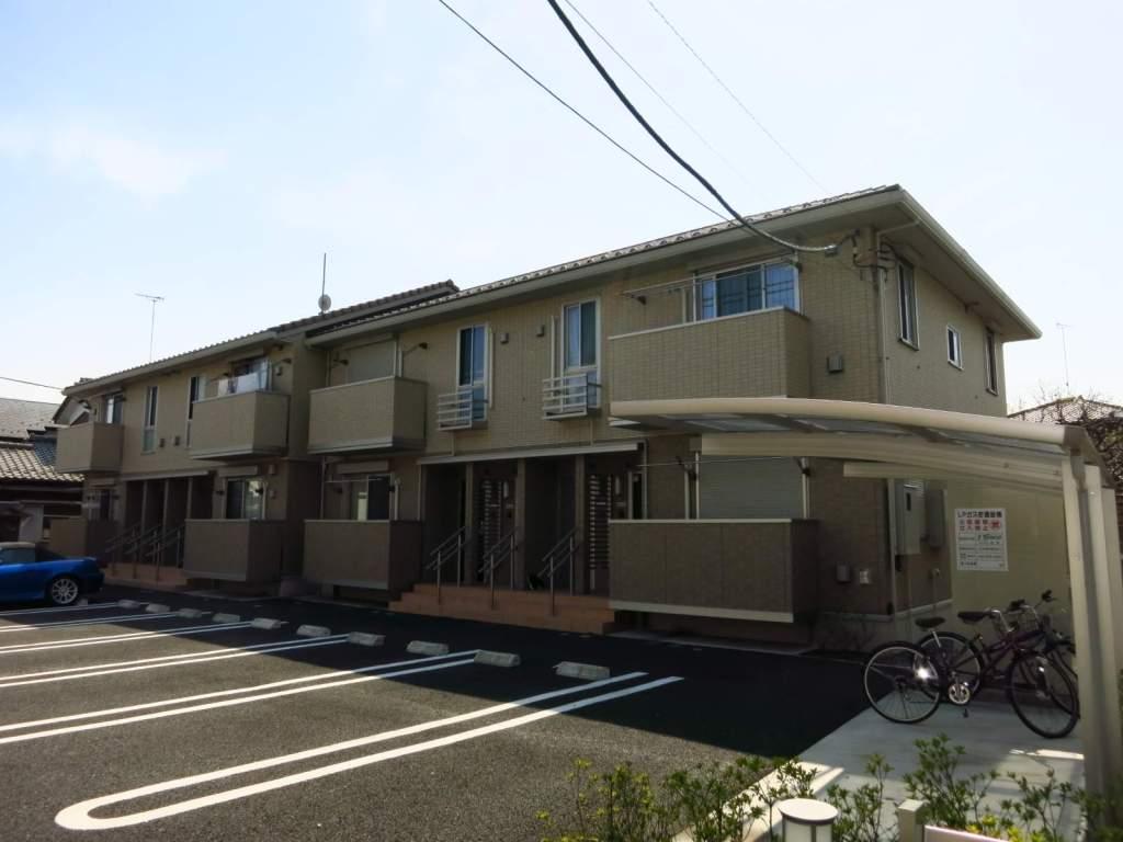 東京都町田市、相模原駅徒歩27分の築7年 2階建の賃貸アパート