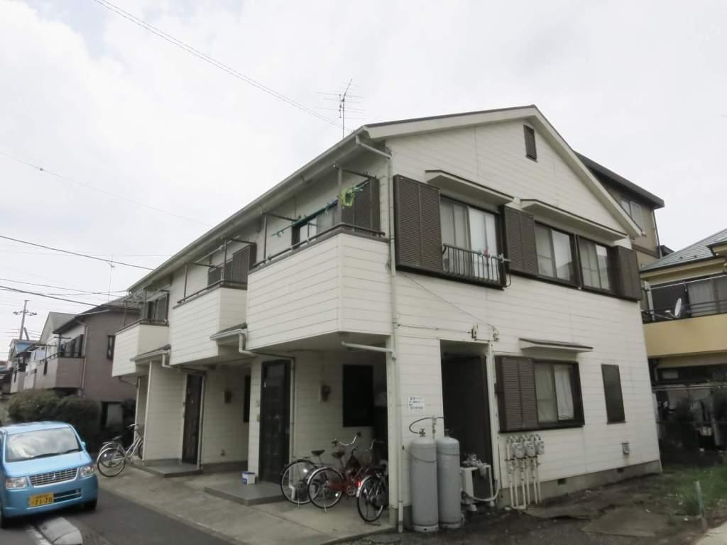 神奈川県相模原市中央区、淵野辺駅バス10分上溝団地下車後徒歩5分の築25年 2階建の賃貸テラスハウス