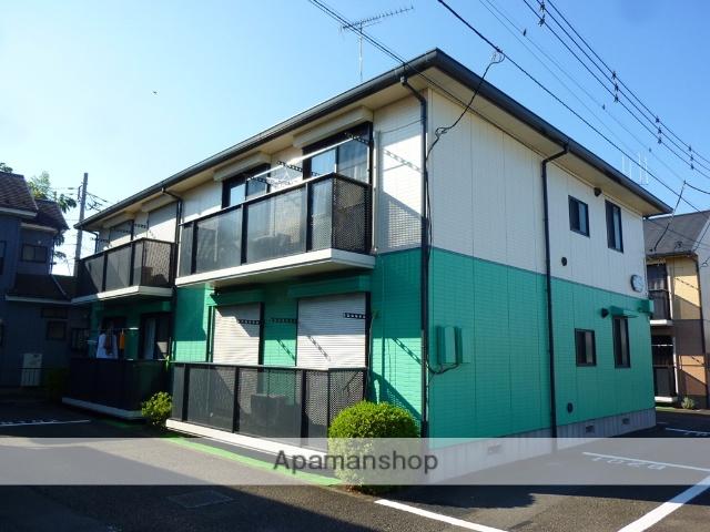 神奈川県相模原市緑区、橋本駅バス16分上大島下車後徒歩4分の築22年 2階建の賃貸アパート