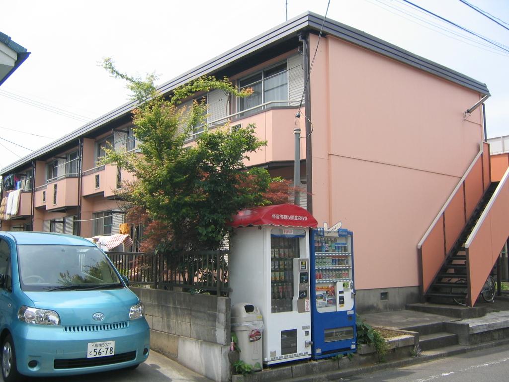 神奈川県相模原市緑区、橋本駅徒歩15分の築35年 2階建の賃貸アパート