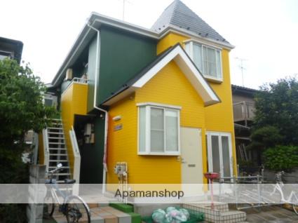 神奈川県相模原市緑区、橋本駅徒歩30分の築23年 2階建の賃貸アパート
