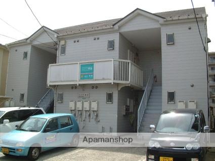 神奈川県相模原市緑区、橋本駅徒歩13分の築25年 2階建の賃貸アパート