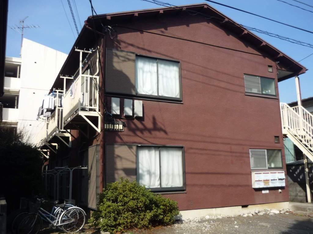 神奈川県相模原市中央区、淵野辺駅徒歩7分の築30年 2階建の賃貸アパート