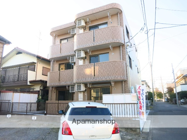 神奈川県相模原市中央区、相模原駅徒歩14分の築4年 3階建の賃貸マンション