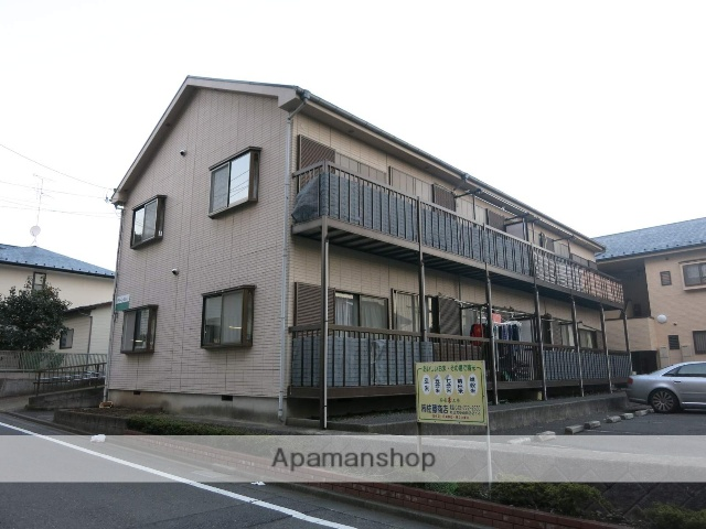 東京都町田市、橋本駅徒歩36分の築22年 2階建の賃貸アパート
