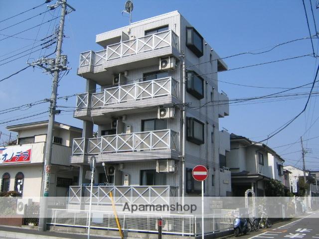 神奈川県相模原市中央区、相模原駅徒歩5分の築26年 4階建の賃貸マンション