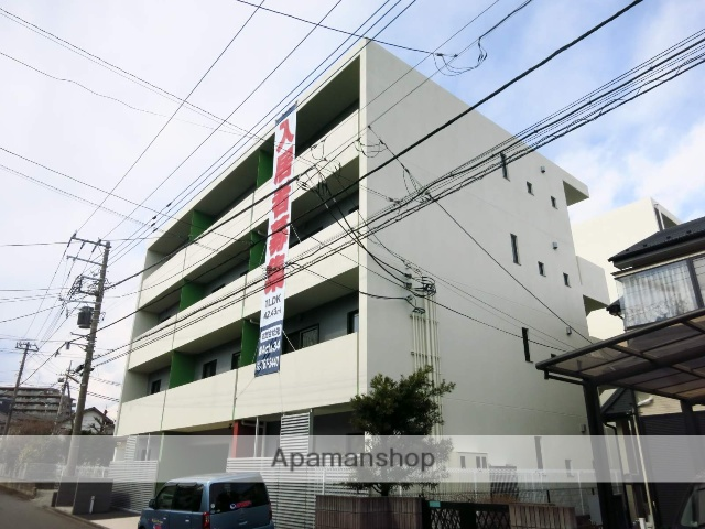 神奈川県相模原市緑区、橋本駅徒歩13分の築2年 4階建の賃貸マンション