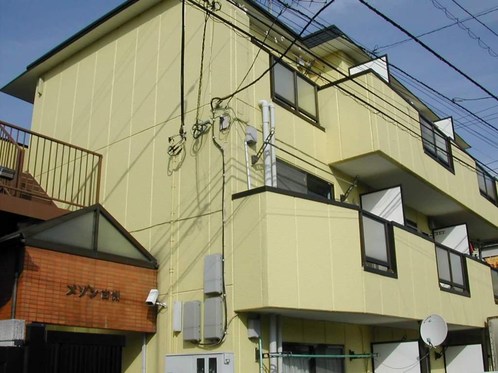神奈川県相模原市中央区、古淵駅徒歩6分の築27年 3階建の賃貸マンション