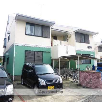 神奈川県相模原市中央区、古淵駅徒歩20分の築22年 2階建の賃貸アパート