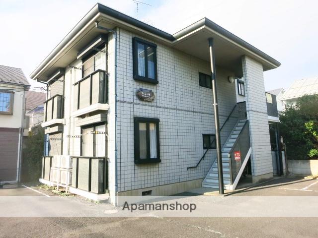 神奈川県相模原市中央区、淵野辺駅徒歩24分の築20年 2階建の賃貸アパート