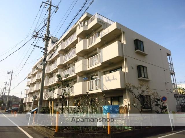 神奈川県相模原市中央区、相模原駅徒歩18分の築29年 5階建の賃貸マンション