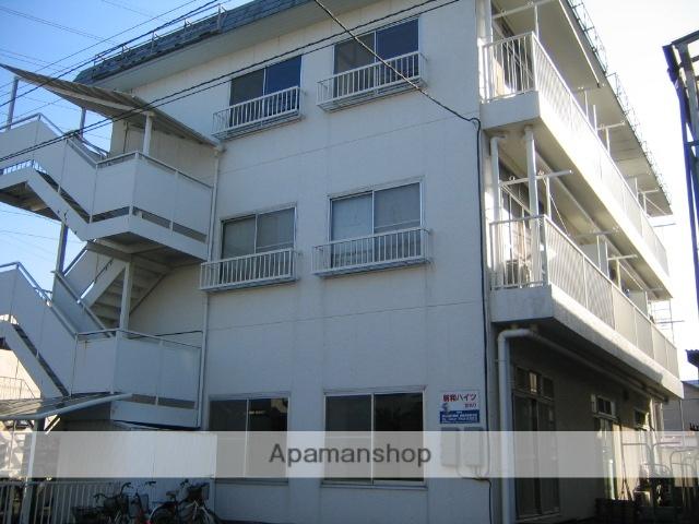 神奈川県相模原市中央区、相模原駅徒歩10分の築38年 3階建の賃貸マンション