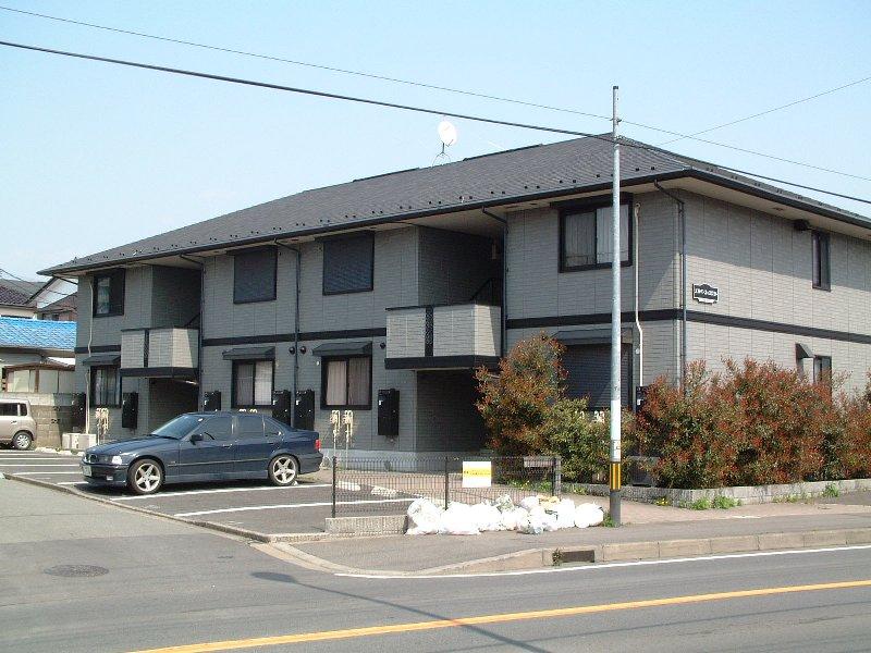 神奈川県相模原市緑区、橋本駅上大島行きバス7分六地蔵下車後徒歩3分の築18年 2階建の賃貸アパート