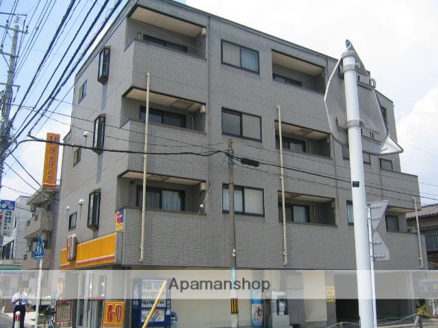 神奈川県相模原市緑区、橋本駅徒歩12分の築22年 4階建の賃貸マンション