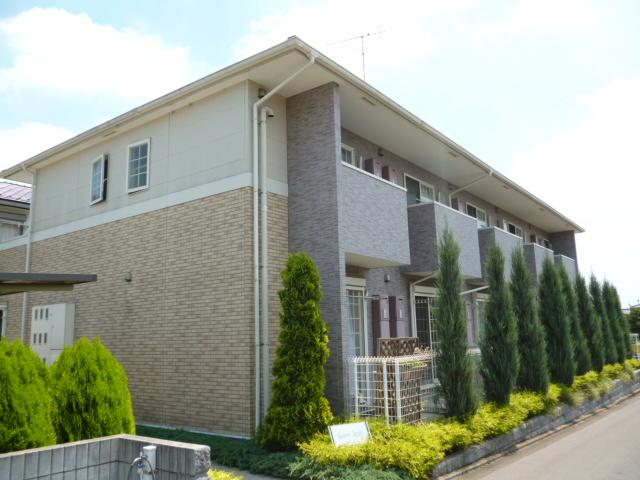 東京都町田市、相原駅徒歩8分の築10年 2階建の賃貸アパート