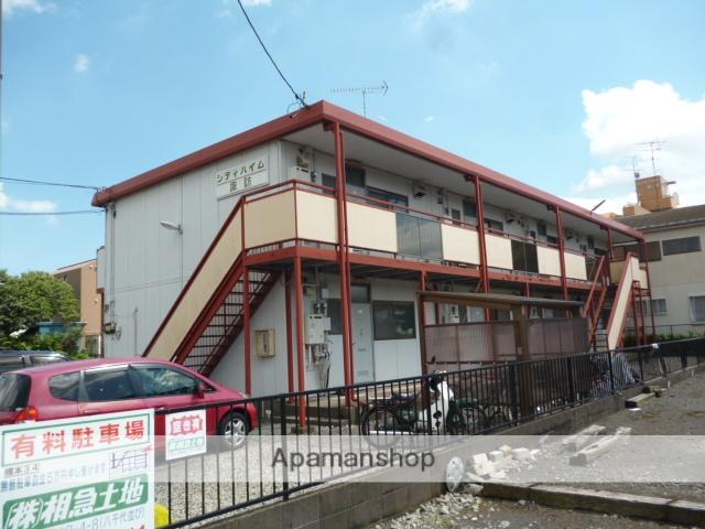 神奈川県相模原市緑区、橋本駅徒歩15分の築34年 2階建の賃貸アパート