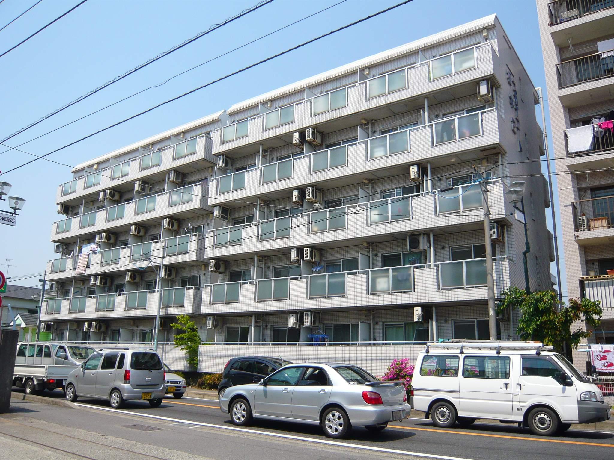 神奈川県相模原市緑区、橋本駅徒歩20分の築29年 5階建の賃貸マンション