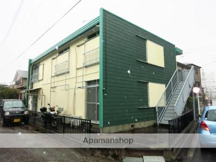 神奈川県相模原市緑区、橋本駅徒歩15分の築39年 2階建の賃貸アパート