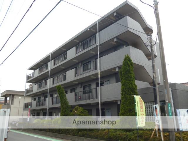 神奈川県相模原市緑区、橋本駅徒歩13分の築21年 4階建の賃貸マンション