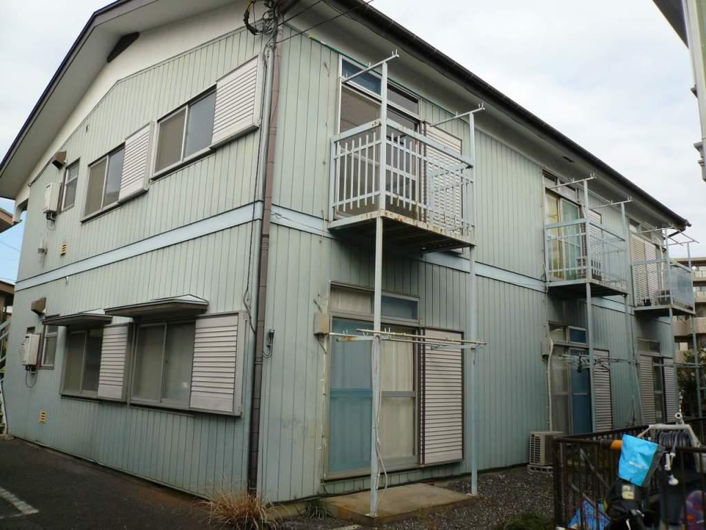 神奈川県相模原市緑区、橋本駅徒歩18分の築36年 2階建の賃貸アパート