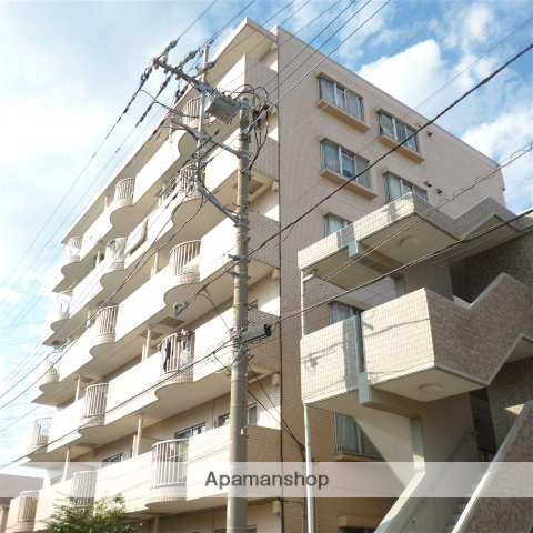 神奈川県相模原市緑区、橋本駅徒歩6分の築28年 6階建の賃貸マンション
