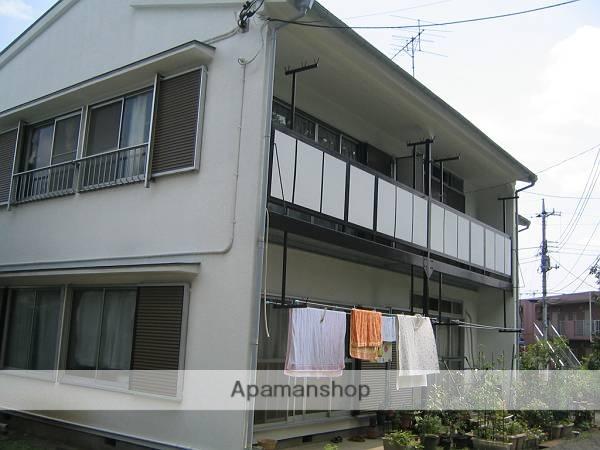 東京都町田市、相模原駅徒歩29分の築33年 2階建の賃貸アパート