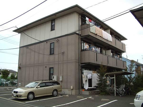 神奈川県相模原市緑区、橋本駅バス11分原宿下車後徒歩3分の築21年 3階建の賃貸アパート