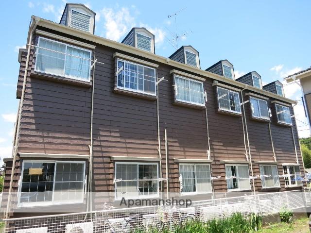神奈川県相模原市緑区、橋本駅徒歩30分の築28年 2階建の賃貸アパート