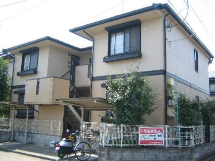 神奈川県相模原市緑区、橋本駅徒歩32分の築22年 2階建の賃貸アパート