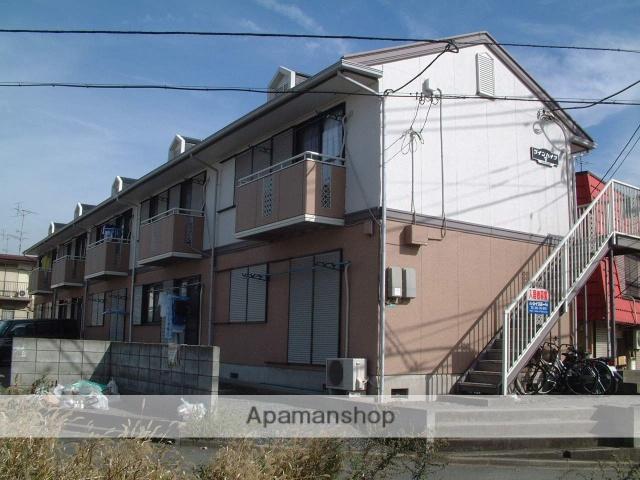 神奈川県相模原市緑区、橋本駅橋本駅バス9分上の原下車後徒歩2分の築25年 2階建の賃貸アパート