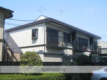 神奈川県相模原市緑区、橋本駅徒歩17分の築28年 2階建の賃貸アパート