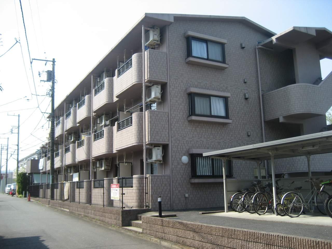 神奈川県相模原市緑区、橋本駅バス10分職能大前下車後徒歩2分の築13年 3階建の賃貸マンション