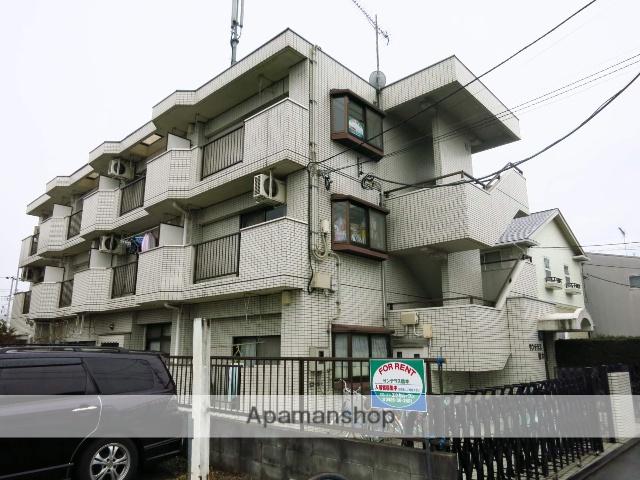 神奈川県相模原市緑区、橋本駅徒歩15分の築27年 3階建の賃貸マンション