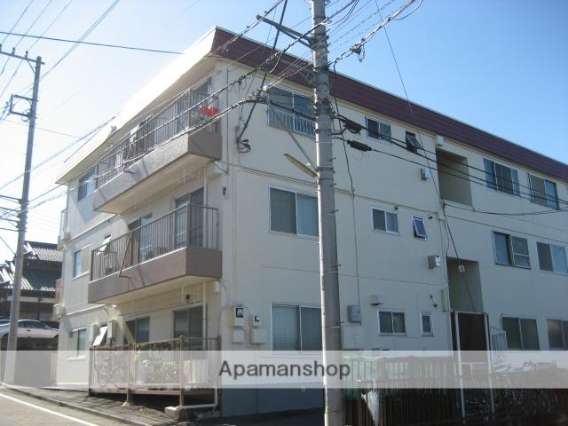 神奈川県相模原市緑区、橋本駅徒歩13分の築33年 3階建の賃貸マンション