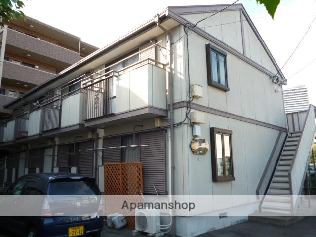 神奈川県相模原市緑区、橋本駅徒歩8分の築24年 2階建の賃貸アパート