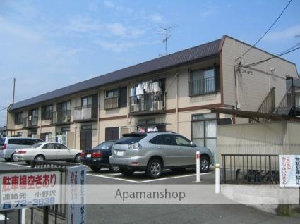 神奈川県相模原市緑区、橋本駅バス8分二本松2丁目下車後徒歩3分の築28年 2階建の賃貸アパート