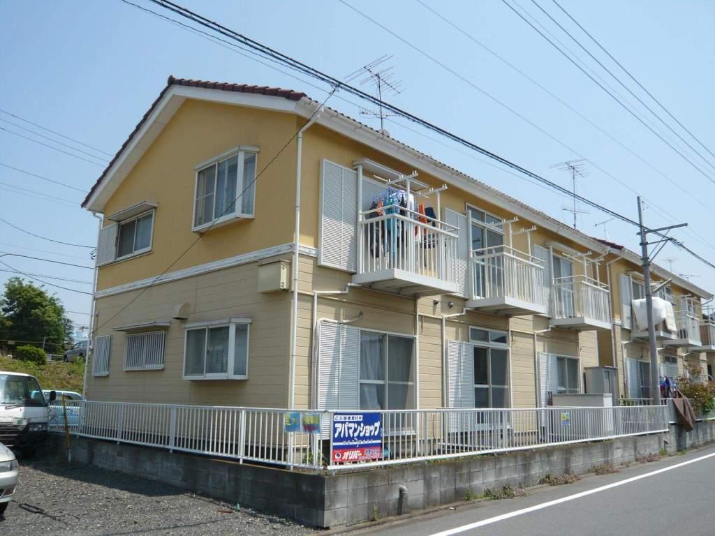 神奈川県相模原市中央区、古淵駅バス12分横山坂上下車後徒歩2分の築22年 2階建の賃貸アパート