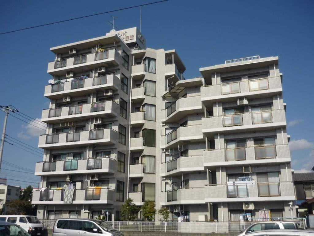 神奈川県相模原市中央区、古淵駅徒歩18分の築27年 7階建の賃貸マンション