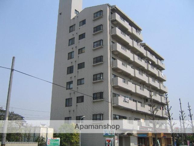 神奈川県相模原市中央区、淵野辺駅徒歩23分の築28年 8階建の賃貸マンション