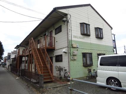 神奈川県相模原市中央区、古淵駅徒歩8分の築26年 2階建の賃貸アパート