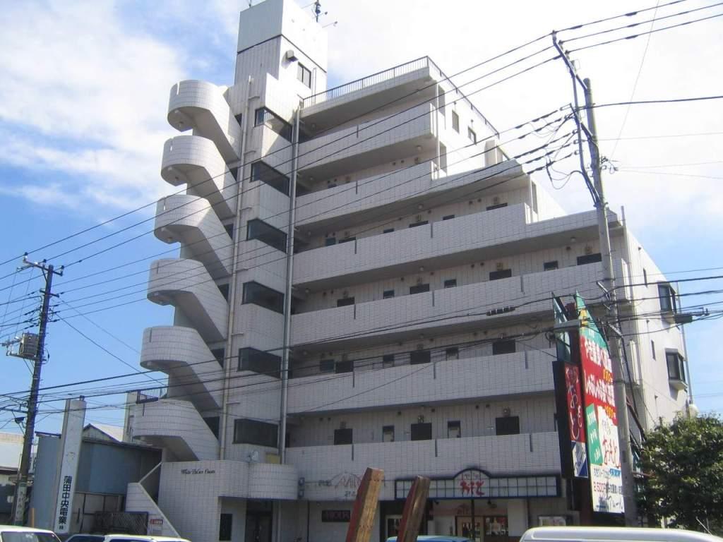 神奈川県相模原市中央区、古淵駅徒歩28分の築27年 7階建の賃貸マンション
