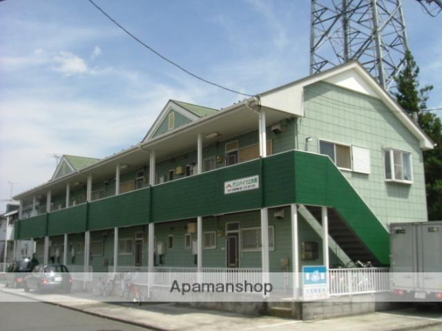 神奈川県相模原市中央区、淵野辺駅徒歩30分の築27年 2階建の賃貸アパート