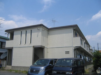 神奈川県相模原市中央区、淵野辺駅バス10分弥栄2丁目下車後徒歩3分の築29年 2階建の賃貸アパート