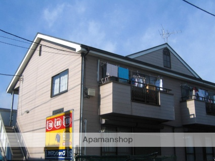 神奈川県相模原市中央区、上溝駅徒歩12分の築24年 2階建の賃貸アパート